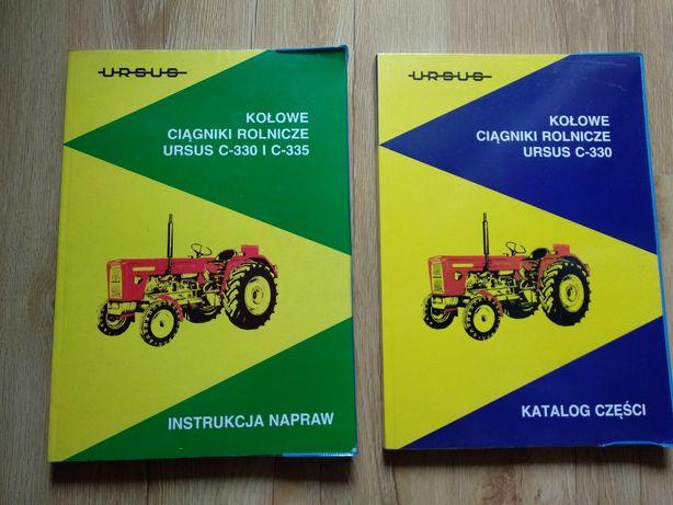Instrukcja napraw Katalog części Ursus C330 C-330 C 330 C-335