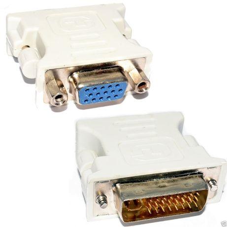 Adaptador DVI 24Pins + 5 to VGA