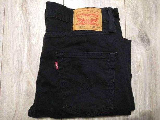 Levi's 514 W31L30 super stan super spodnie Levis