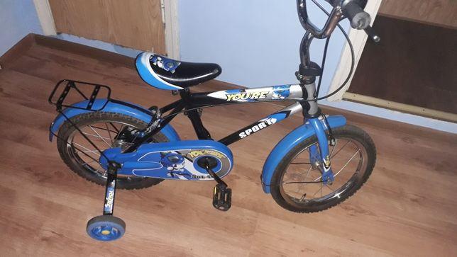 """Велосипед бу 16"""" колеса,ровер на 4-8 років."""