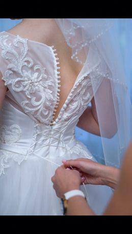 """Продам срочно свадебное платье из магазина """"Love Story"""""""