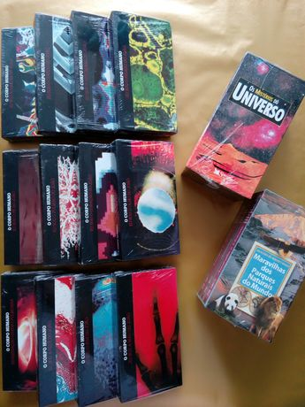 18 VHS Corpo Humano Novas