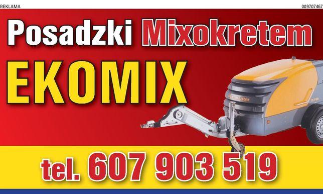 Posadzki Mixokretem EKOMIX