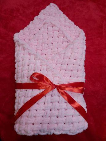 Одіялко-конверт для новонародженного