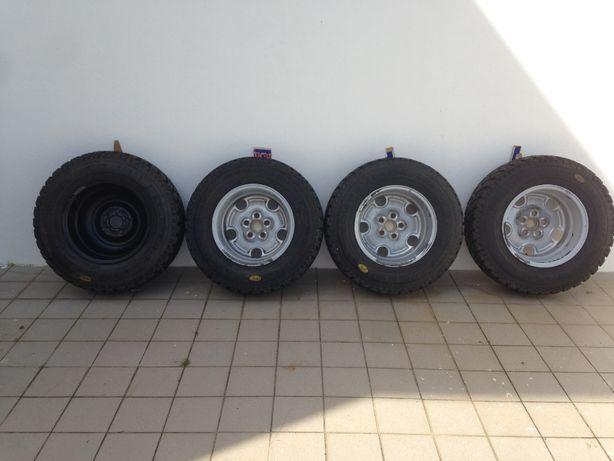 Pneus e Jantes - Land Rover