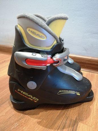 Dziecięce buty do nart zjazdowych Head Carve X1 wkładka 170-185