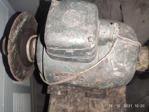 Электродвигатель-точило СССР Чехословакия