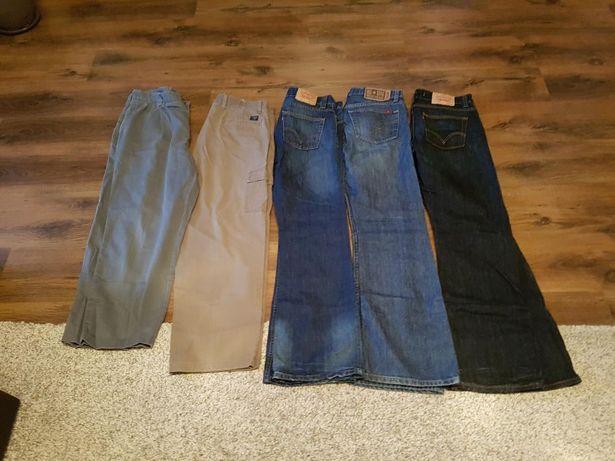 Spodnie dzinsowe( big star,Levis) i inne