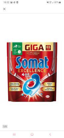 Kapsułki do zmywarki Somat Excellence 4 w 1 25 sztuk