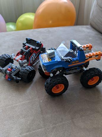 Машинки Lego джип и гоночная