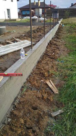 Фундамент кладка заборы кирпич профнастил крыша