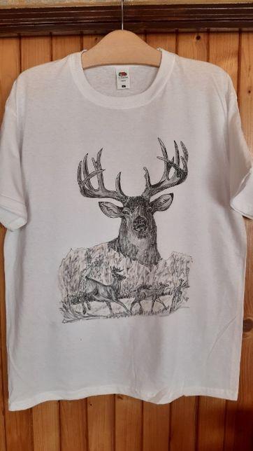 koszulka ręcznie malowana nr 9