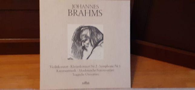 Johannes Brahms Box 5 sztuk płyty winylowe idealne