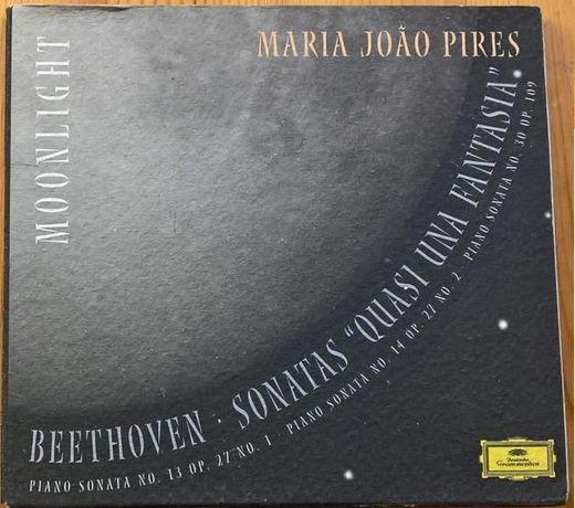 Beethoven - Sonata ao Luar (Mª J. Pires) CD
