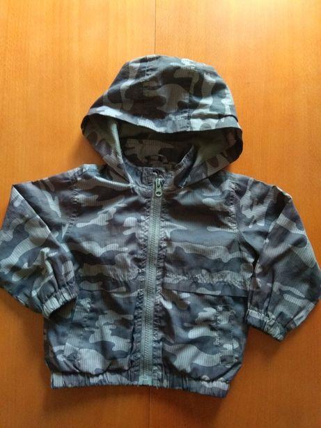 Ubranka dla niemowlaka - kurtka z kapturem rozmiar 92
