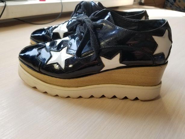 кожаные туфли STELL MCCARTNY