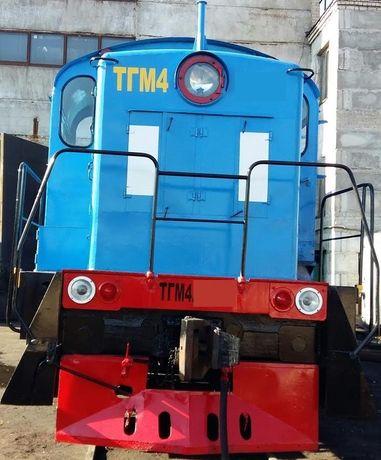 Маневровый тепловоз серії ТГМ-4