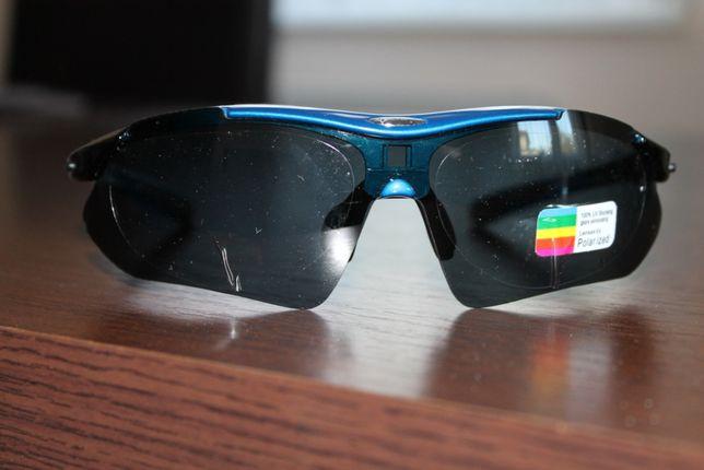 Okulary sportowe z polaryzacją