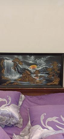 Продам картина- лепка