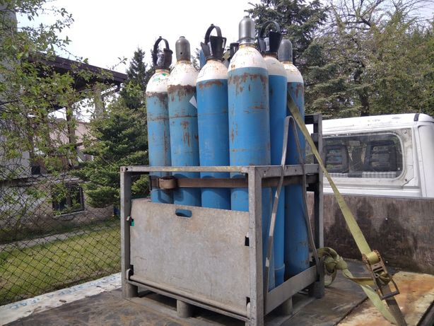Butle gazowe tlen argon mieszanka