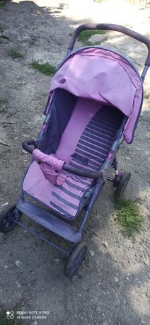 Летняя коляска для девочки