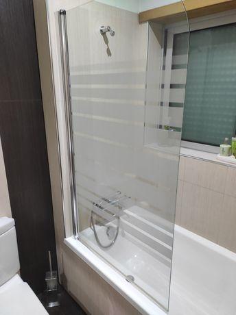 Resguardo Duche + Banheira + Lavatório + Misturadora Wc