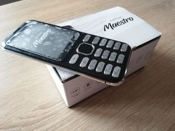 Nowy telefon komórkowy - myPhone MAESTRO