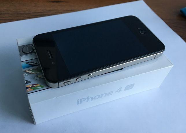iPhone 4s czarny model A1387 16GB plus etui