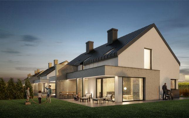 Domy w zabudowie bliźniaczej, 138 m2, garaż, ogród, działka 400m2