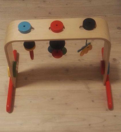 Ikea Leka stojak z zabawkami, karuzela drewniana