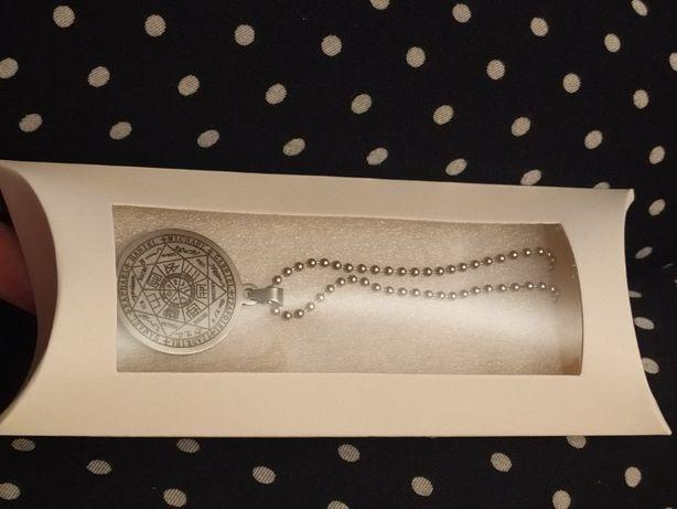 naszyjnik potężny amulet Talizman siedem Aniołów, 7 Aniołów szczęście