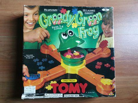 Gra Greedy green frog - TOMY - Chciwa zielona żaba