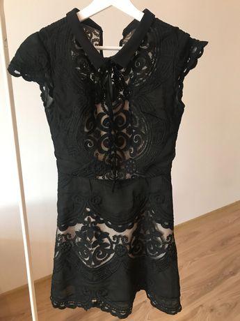Czarna sukienka YOSHE, rozm. S