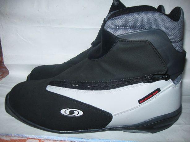 Лыжные ботинки Salomon 47-48 р