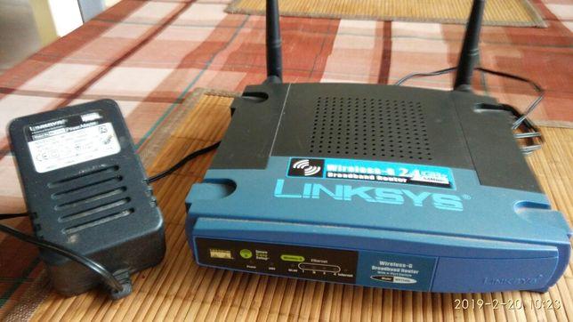 Router legenda Linksys WRT54GL v. 1.1