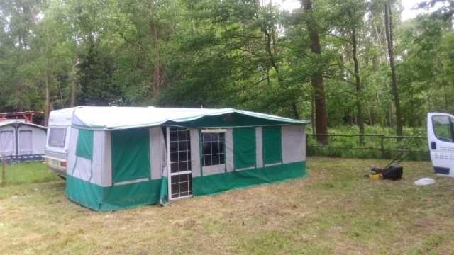 Sprzedam namiot przedsionek do przyczepy
