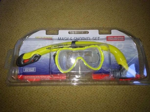 zestaw do nurkowania dla maluszka maska + rurka