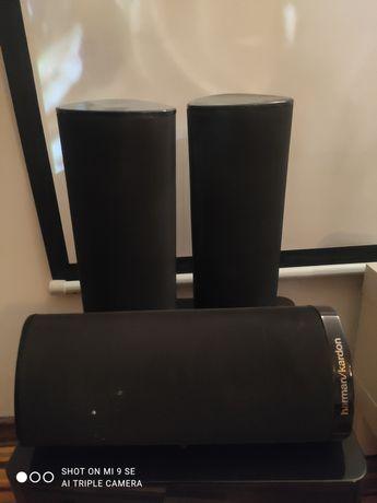 Amplituner Yamaha+ głośniki 5.1 Harman Kardon