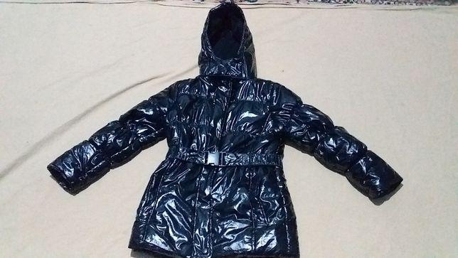 Куртка детская для девочки- на флисе,новая -Kids by Gemo -10 лет