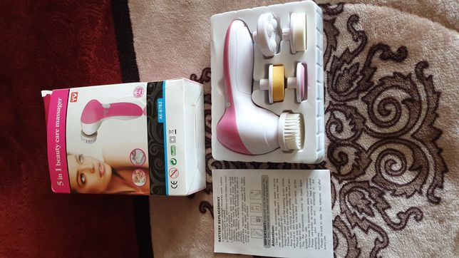 Уход за лицом face cleaner 5 in 1 beauty care massager