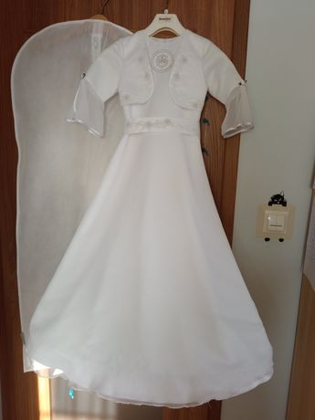 Sukienka/alba komunijna wzrost 128 cm
