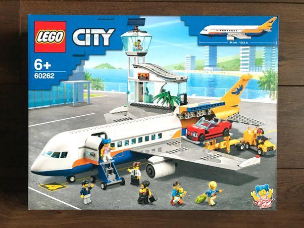 LEGO City 60262 Samolot pasażerski - NOWE