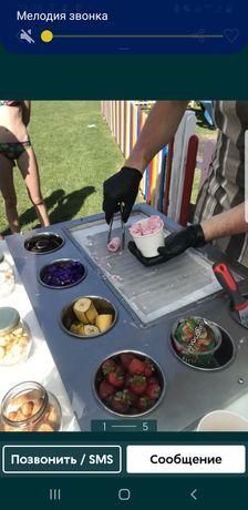 Тайское мороженое аппарат