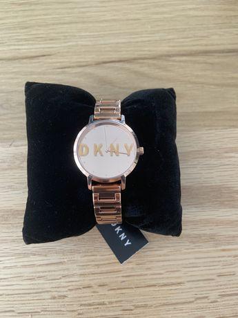 Zegarek różowozłoty DKNY nowy