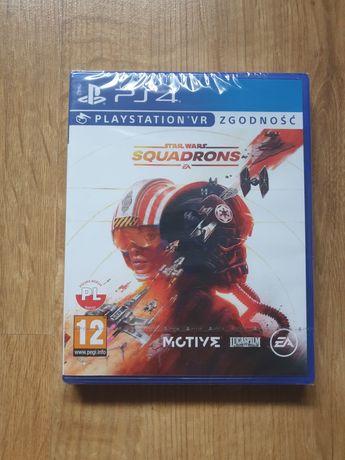 NOWY Gwiezdne Wojny Star Wars SQUADRONS PS4 PS5