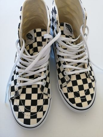 Vans tapered xadrez