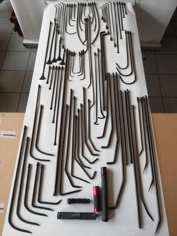 Narzędzia PDR druty - 81 szt drutów
