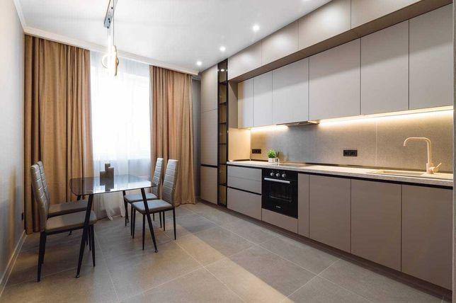 2 ком + кухня-гостиная. АРКАДИЯ. Красивый Дизайнерский Ремонт.
