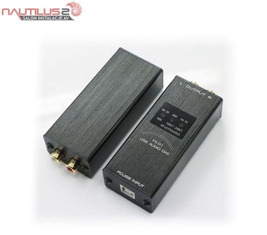 FX-AUDIO FX01 przetwornik cyfrowo analogowy DAC USB | Raty 30x0%