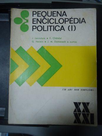 Pequena Enciclopédia Politica (I) - 1975. J. Lacouture; F. Châtelet